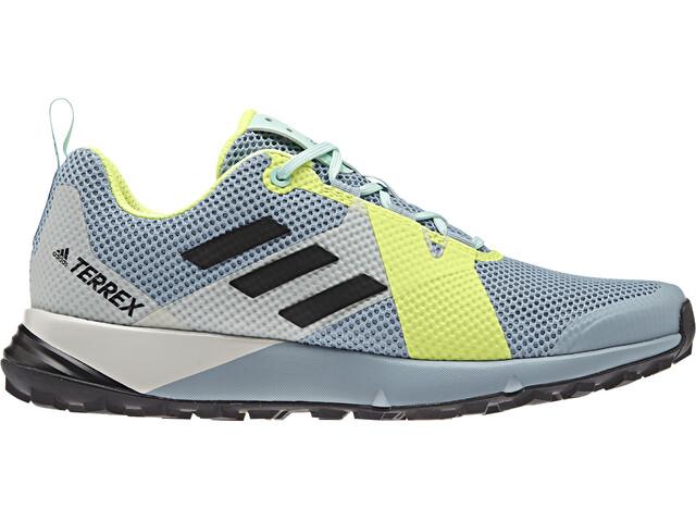 adidas TERREX Two Shoes Women, ash grey/core black/hi-res yellow
